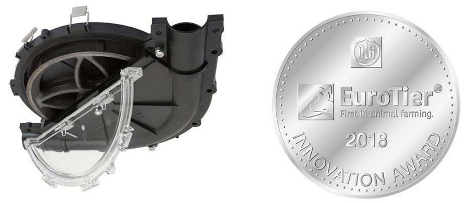 E-Z Поворотный угол удостоен серебряной медали в номинации Инновации Евротир 2018.